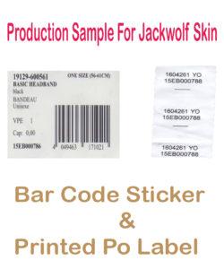 Bar code jack