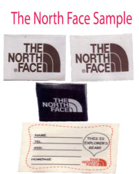 Northface sample