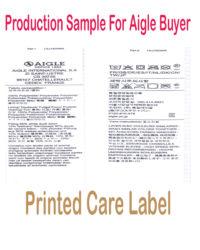 Printed care aigle