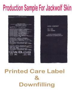 Printed care jack
