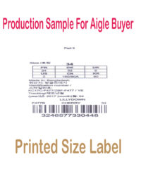 Printed size aigle