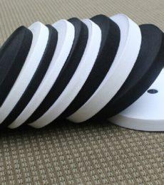 Sewing-supplies-garment-accessories-black-White-font-b-elastic-b-font-webbing-font-b-band-b