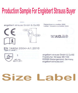 size label 2 engle